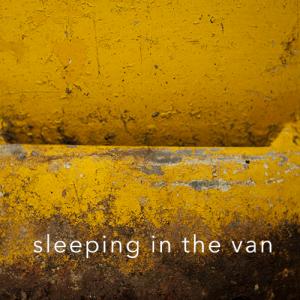 sleeping in the van
