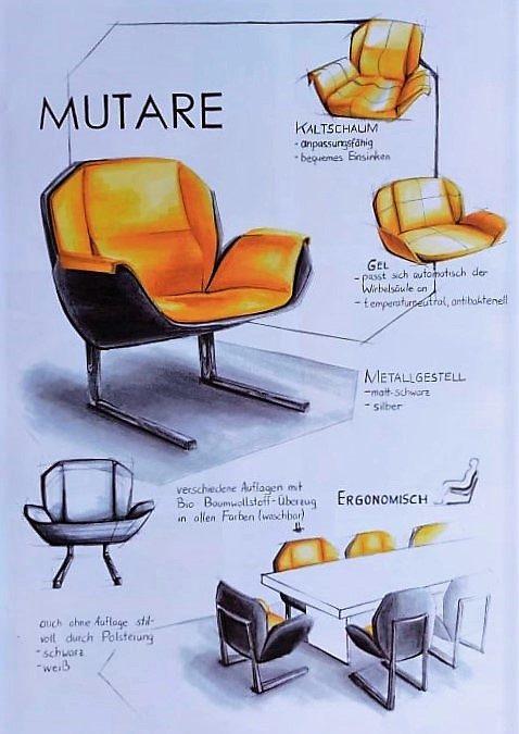 Sitzmöbeldesign